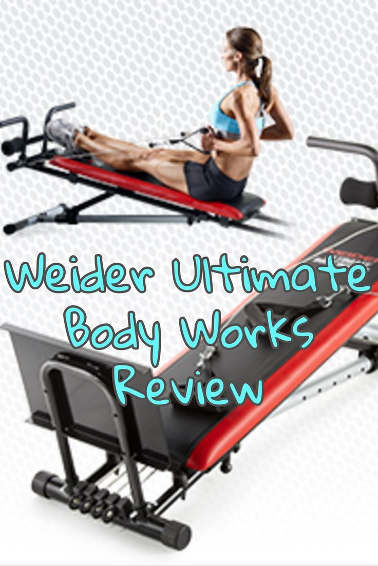 #WeiderUltimateBodyWorks is a budget-friendly adjustable incline bench with a cable and pulley system and squat stand.  Click on the image to get the details!