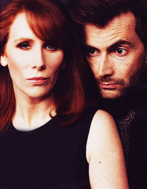 Doctor Who. The lovely David Tennant and Catherine Tate together. Donna Noble, my second favourite companion that... unfortunately had a very sad ending to her tale with the Doctor.