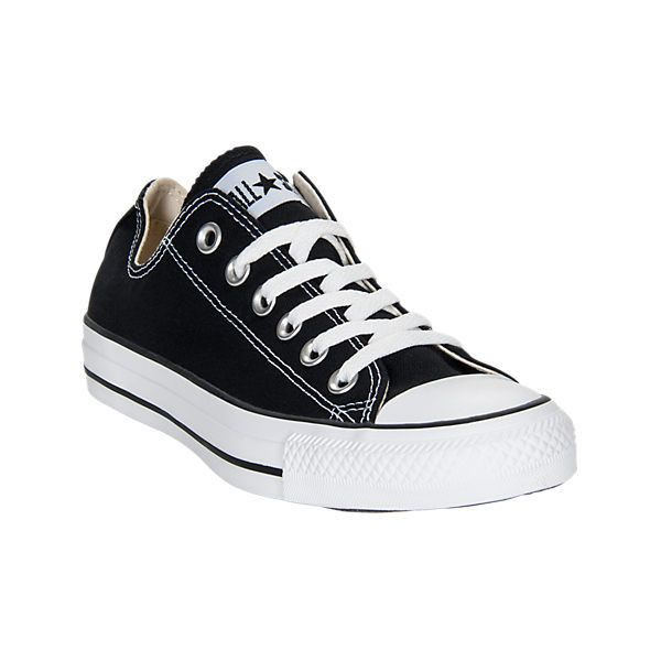 Converse Women's Chuck Taylor Ox Casual Shoes, Black ($50) ❤ liked on Polyvore featuring shoes, sneakers, black, american shoes, converse trainers, converse footwear, converse sneakers and black trainers