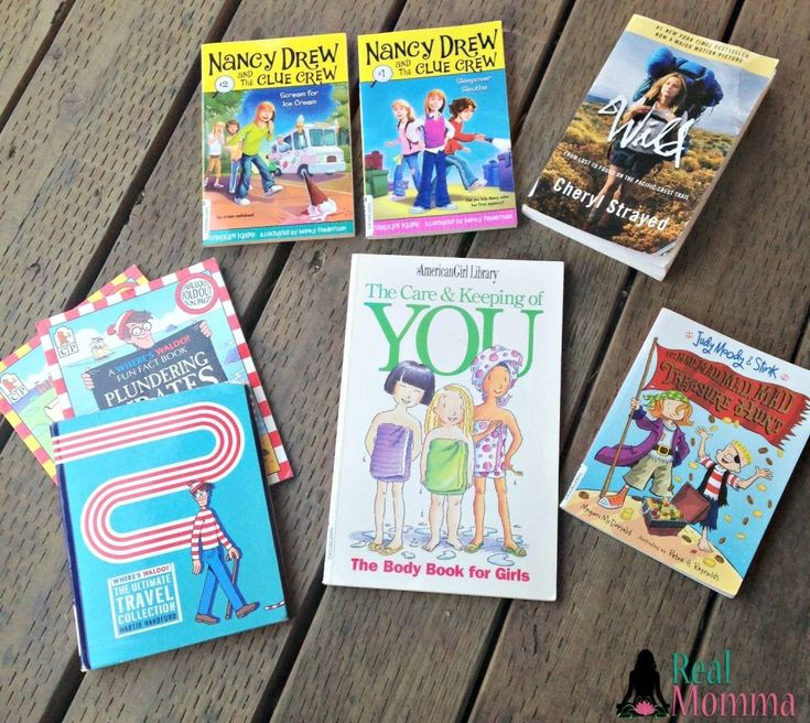 Vacation Time: Perfect Books for a Family Road Trip #LoveThriftBooks
