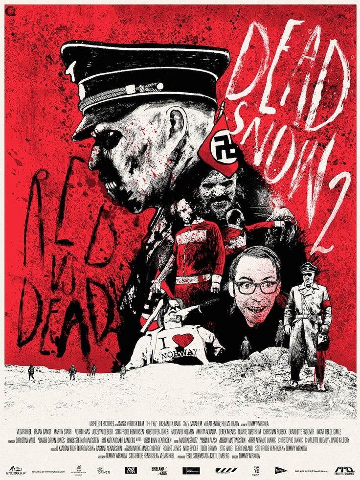 76. Dead Snow 2: Red vs. Dead (2014) aka Død Snø 2