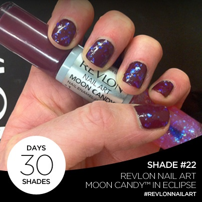 23 best revlon nails images on pinterest revlon nail polish day 22 of 30 days 30 shades is revlon nail art moon candy in eclipse prinsesfo Gallery