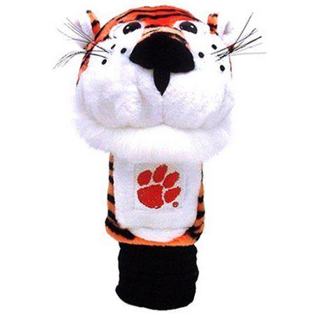Team Golf Ncaa Clemson Mascot Head Cover, Orange
