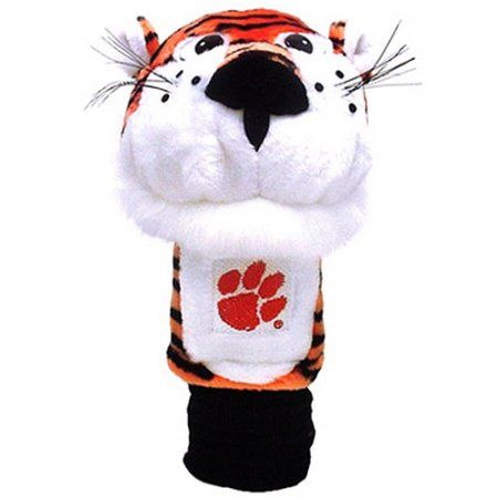 Team Golf Ncaa Clemson Mascot Head Cover, Orange