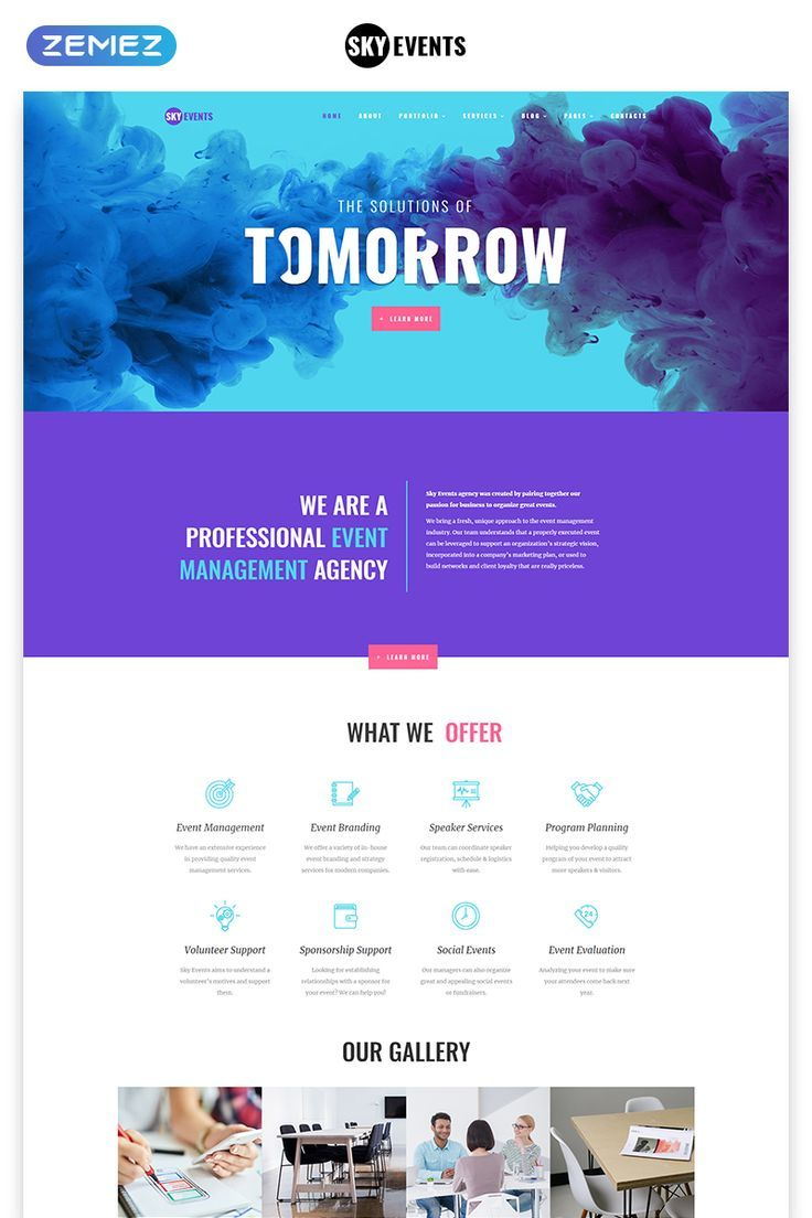 Event Multipage Html Template Event Planner Website Website Design Event Website