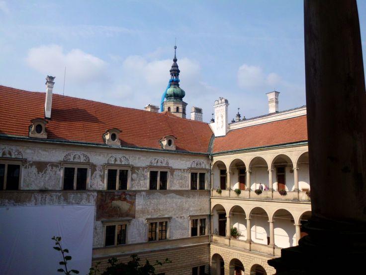 Návštěva zámku Litomyšl