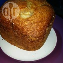Foto recept: Bananenbrood uit de broodbakmachine