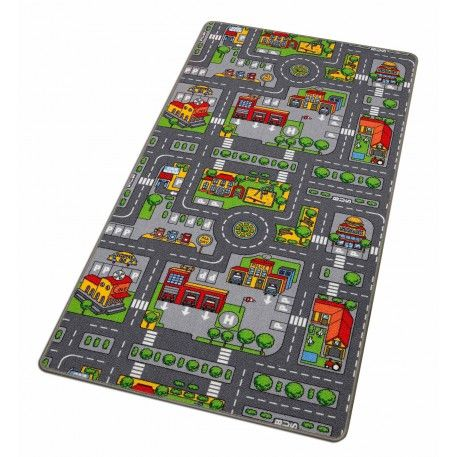 Carpet Road City Playmat 1mx1.9m