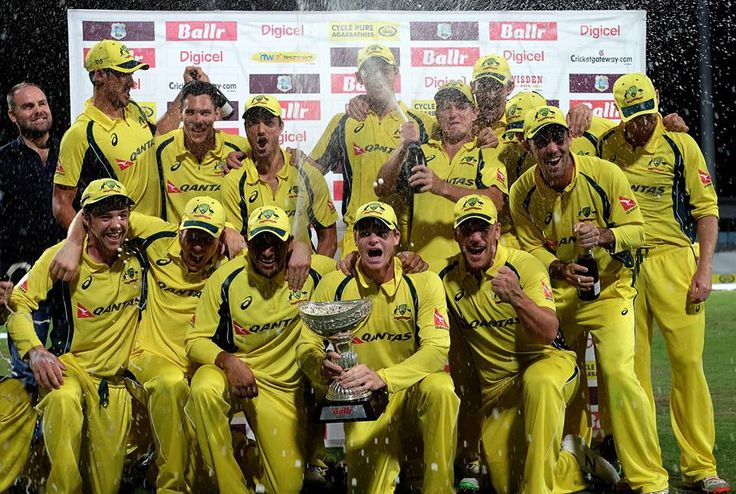 Pleased with the way we scrapped today:#SteveSmith after #winning triseries in #WestIndies.#vitorr #startup #cricket