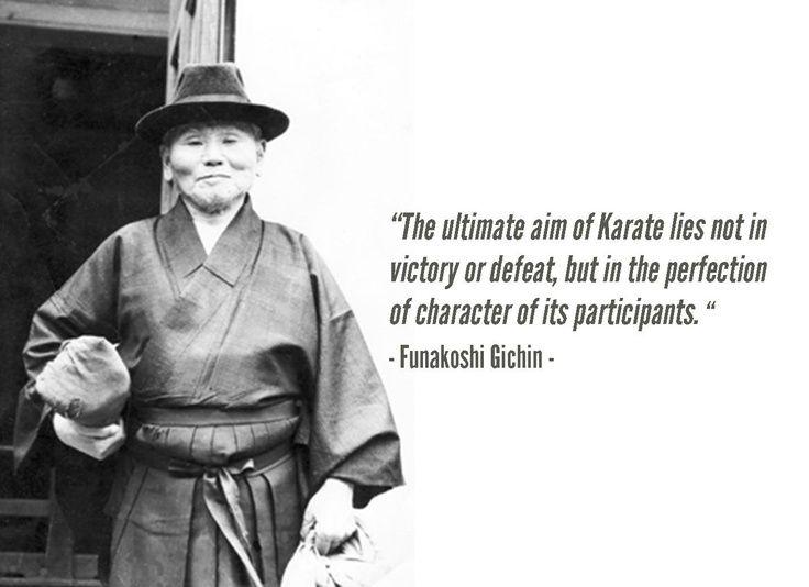 Sensei Gichin Funakoshi-(1868 – 1957)…