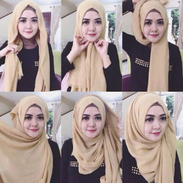 Tutorial Hijab Pashmina Rawis Modis dan Terbaru