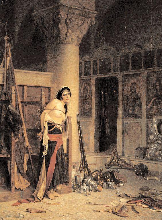 Ράλλης Θεόδωρος-Η λεία, 1905