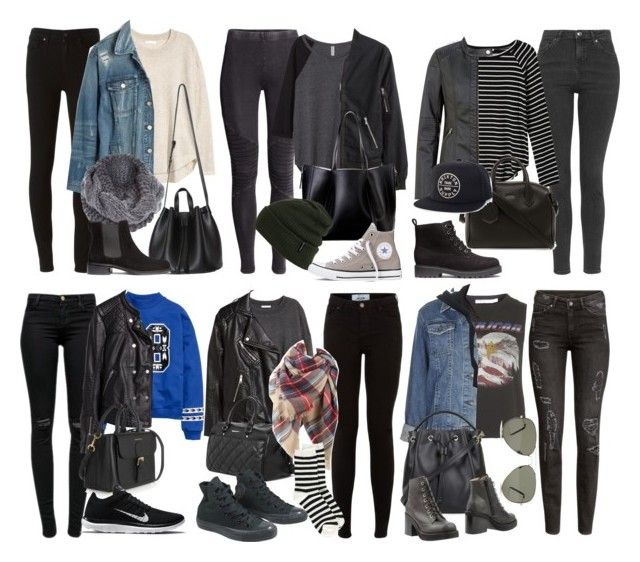 """Michael Clifford Inspired Outfits for Winter"" by fivesecondsofinspiration ❤ liked on Polyvore featuring Paige Denim, H&M, Madewell, River Island, J Brand, Burberry, Atmos&Here, Billabong, NIKE and Converse"