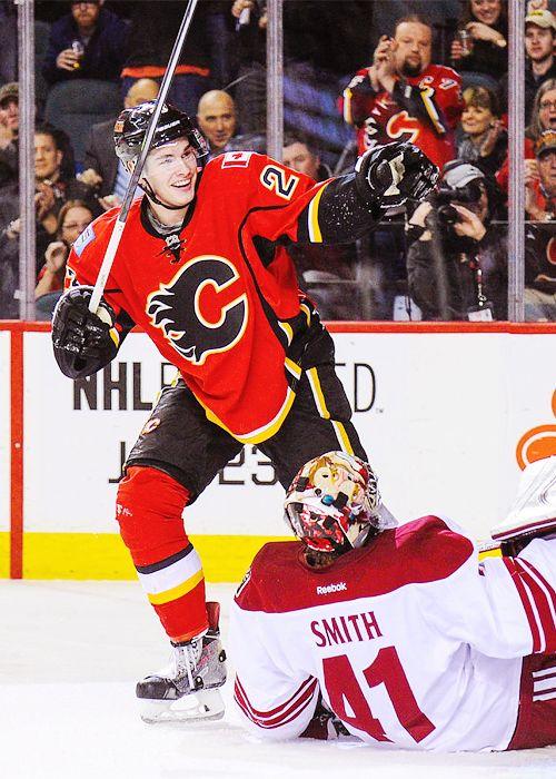 That smile!! Sean Monahan • Calgary Flames • Source: Tumblr/jordanschroeders
