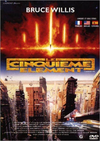 Le Cinquième élément de L.Besson (1997)