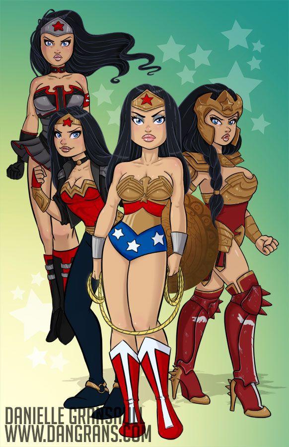 Age of Wonder Woman by dsoloud deviantart com on  DeviantArt