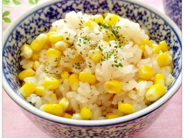 ✿うますぎ♡ 贅沢トウモロコシご飯✿の画像