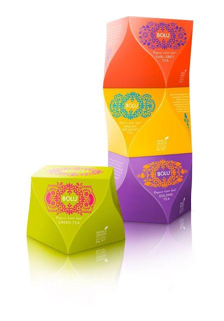 Bolu tea packaging  |  Design: Curious Design, New Zealand  |  http://www.curious.co.nz/  |  via Packaging of the World
