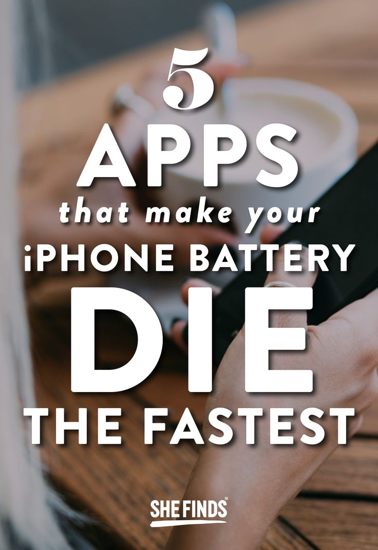 5 apps that make your iphone battery die the fastest