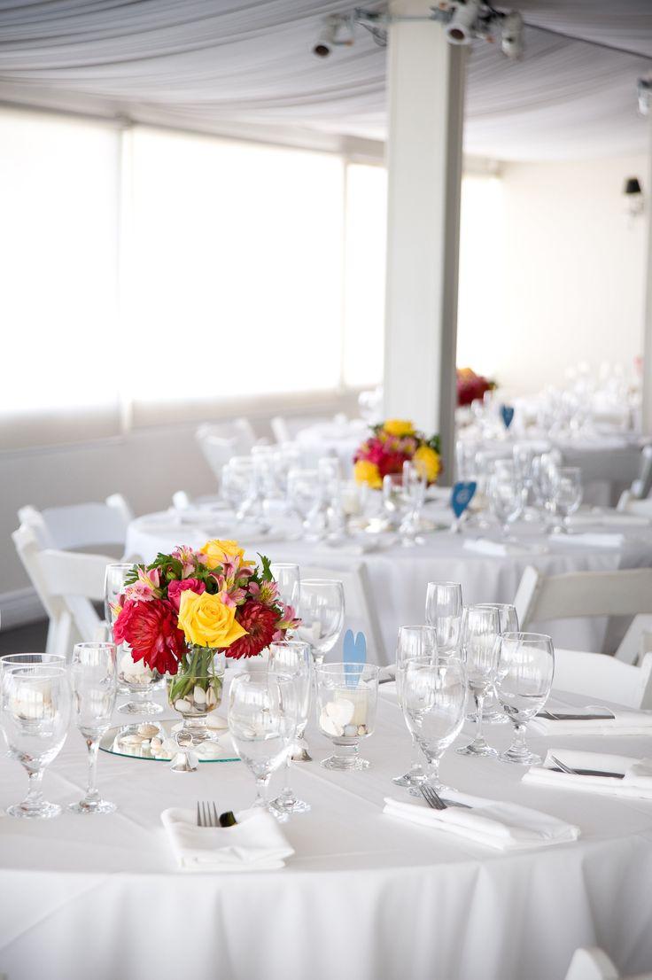 beach weddings in orange county ca%0A Beach Wedding Reception at The Sunset Restaurant  Malibu  California   Credit  www