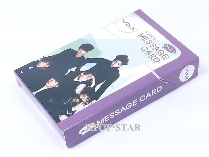 VIXX Photo Message Card ( 30 Piece ) KPOP K-POP Korean K Pop