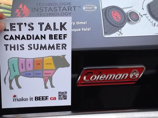 Enter to win a Coleman Even Heat Grill this summer at #ONCornFedBeef and #Loblaws Food Truck Tour!