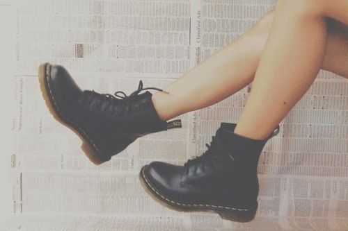 My obsession with Doc Martins won't end until I own a pair.