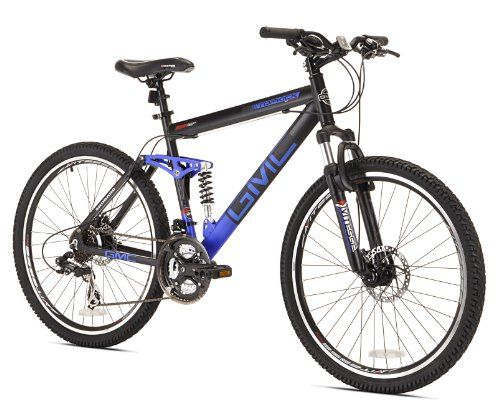Special Offers - GMC Topkick Dual Suspension Mountain Bike Matte Black/Blue - In stock & Free Shipping. You can save more money! Check It (April 14 2016 at 01:40PM) >> http://bmxbikeusa.net/gmc-topkick-dual-suspension-mountain-bike-matte-blackblue/