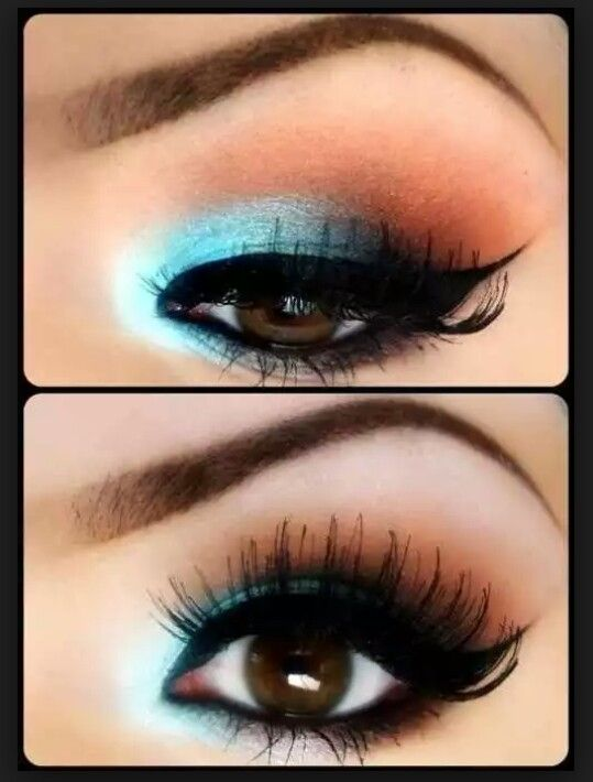 un maquillaje de ojos diferente pero favorecedor para color de ojos cafe