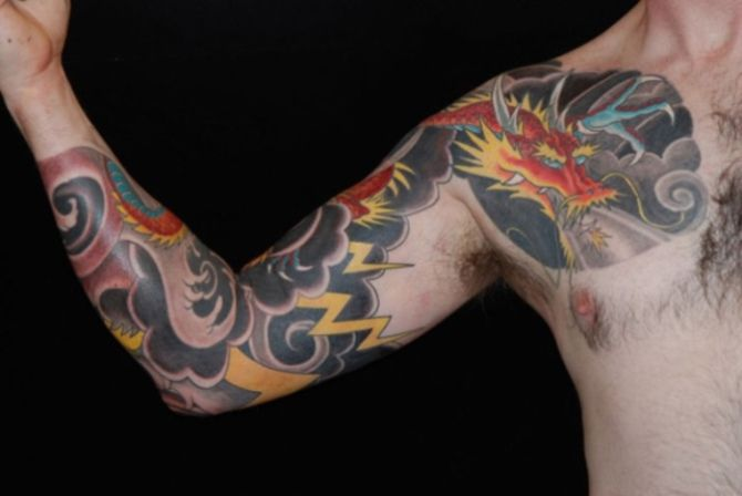 7 Best Lightning Tattoos Images On Pinterest