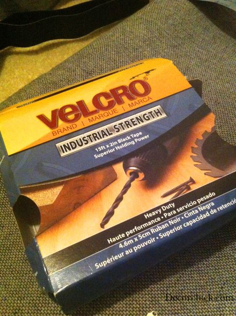 Industrial Strength Velcro Mounting