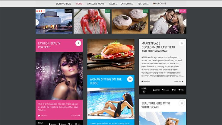 Pravda - WordPress Magazine Theme - #wordpress #magazine #theme #template #design #webdesign