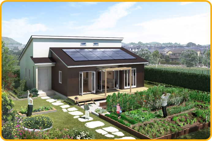 Case3 家庭菜園|子育てのためのAYA|豊かな時間と夢を育む家:AYA|アイフルホーム