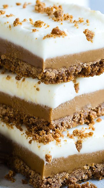 Speculoos Cookie Butter Bars