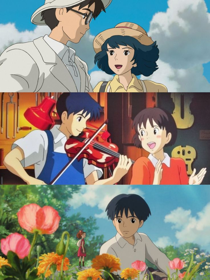 Question 14: Favorite Pairing and Why? Oooh, Jirō Horikoshi and Naoko from Wind, Shizuku and Seiji from Whisper, and Arrietty and Shawn from Arrietty, although they are only friends. Jirō and Naoko's relationship was so tragic and the stuff of eternal love--they made me cry. Shizuku and Seiji's story of how they became a couple was so cute, sweet and rendered perfectly. With Shawn and Arrietty, their forbidden-like friendship was very touching and beautiful to watch! ~Jamie