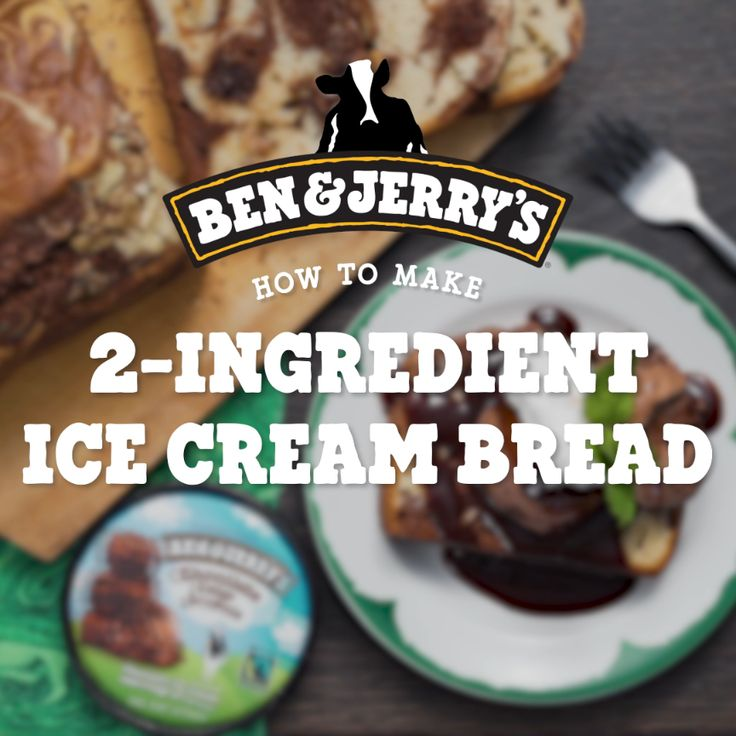2-Ingredient Ice Cream Bread