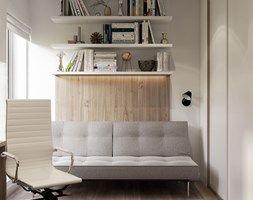 projekt domowego gabinetu - zdjęcie od MIKOŁAJSKAstudio