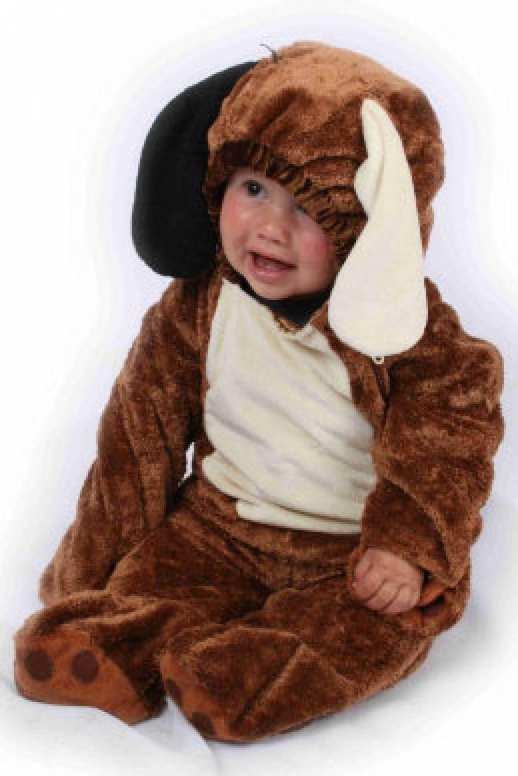 Carnavalskleding baby's: Hondje pluche