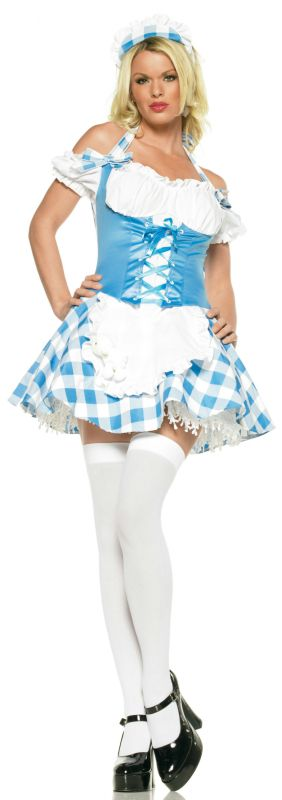 Mary's Little Lamb Sexy Adult Costume,$19.99