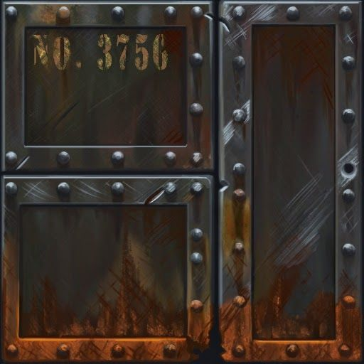 Show your hand painted stuff, pls! - Page 15 - Polycount Forum