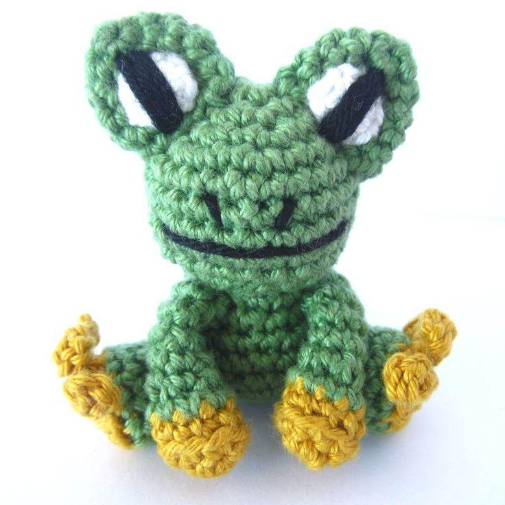 Amigurumi Frosch häkeln Beitragsbild