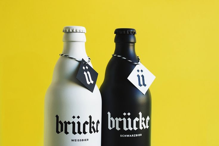 "Branding & Packaging for Brücke Bier by Anna Salvador""Brücke it's a brand formed by a Schwarzbier and a Weissbier. Its name refers to Franz Ernst Brückmann, a german doctor who wrote a play in which the Brunswick Mumme was mentioned as a drink with miraculous effects. Thanks to this legend, the Mumme, a beer that has been elaborated in Brunswick (Germany) since 1390, became popular and expanded into new territories.""Anna Salvador is a graphic design student based in Barcelona, Spain. Most of…"