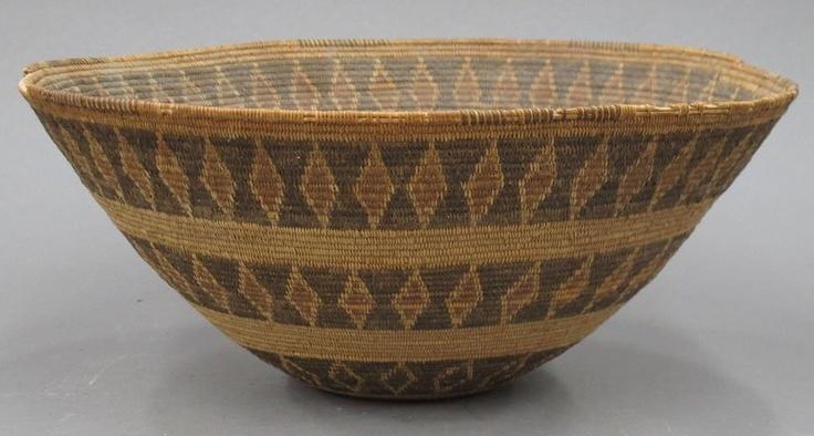 american indian basket yokuts rattle snake design baskets pinterest k rbchen. Black Bedroom Furniture Sets. Home Design Ideas