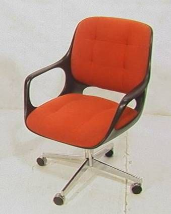 Vintage Mid Century Mod Chromcraft Fice Chair By Athomemodern