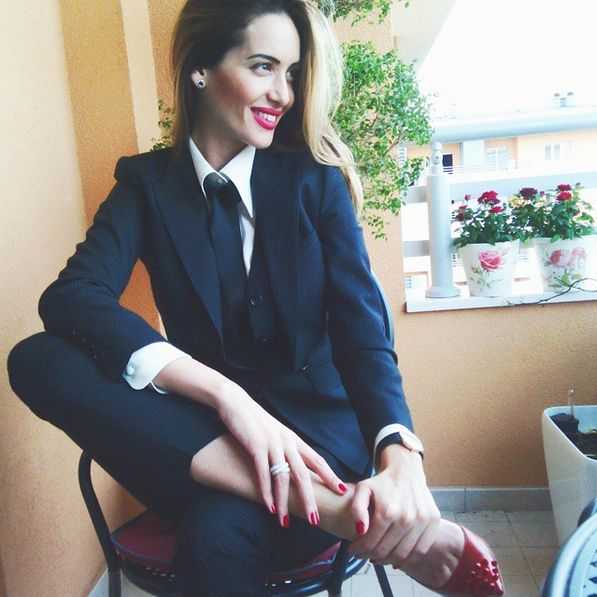 And you make suits look fly as hell. | 19 Badass Ladies Who Will Inspire You To Wear More Suits