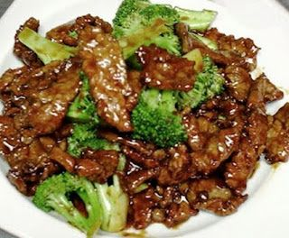 "Crockpot Beef and Broccoli Recipe. The recipe asks for ""beef consumed."" Believe it should be beef consomme."