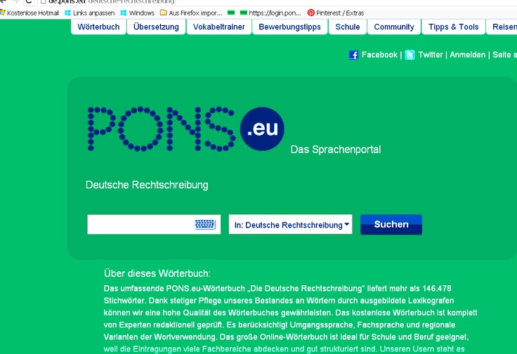 http://de.pons.eu/deutsche-rechtschreibung/   YOUR FREE COMPREHENSIVE ONLINE DICTIONARY OF GERMAN