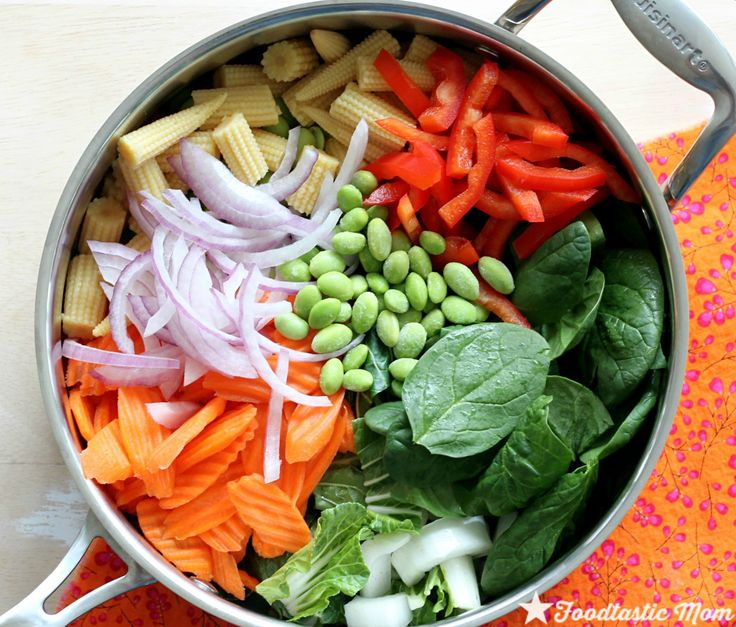 Thai One Pot Pasta by Foodtastic Mom