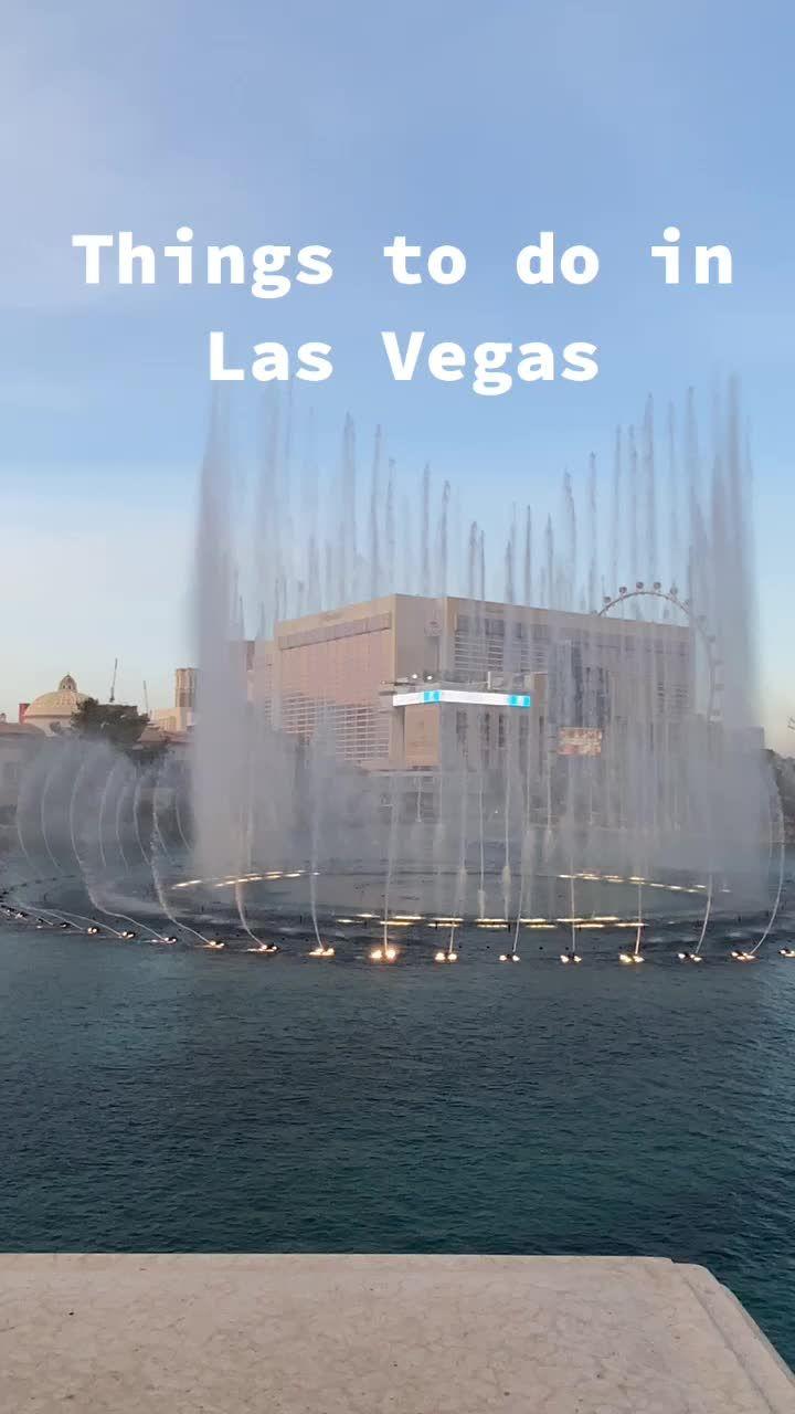 Jennice Jjennice On Tiktok Things I Did In Las Vegas In One Day Travel Vegas Thingstodo Dateideas In 2021 Things To Do Las Vegas Stuff To Do