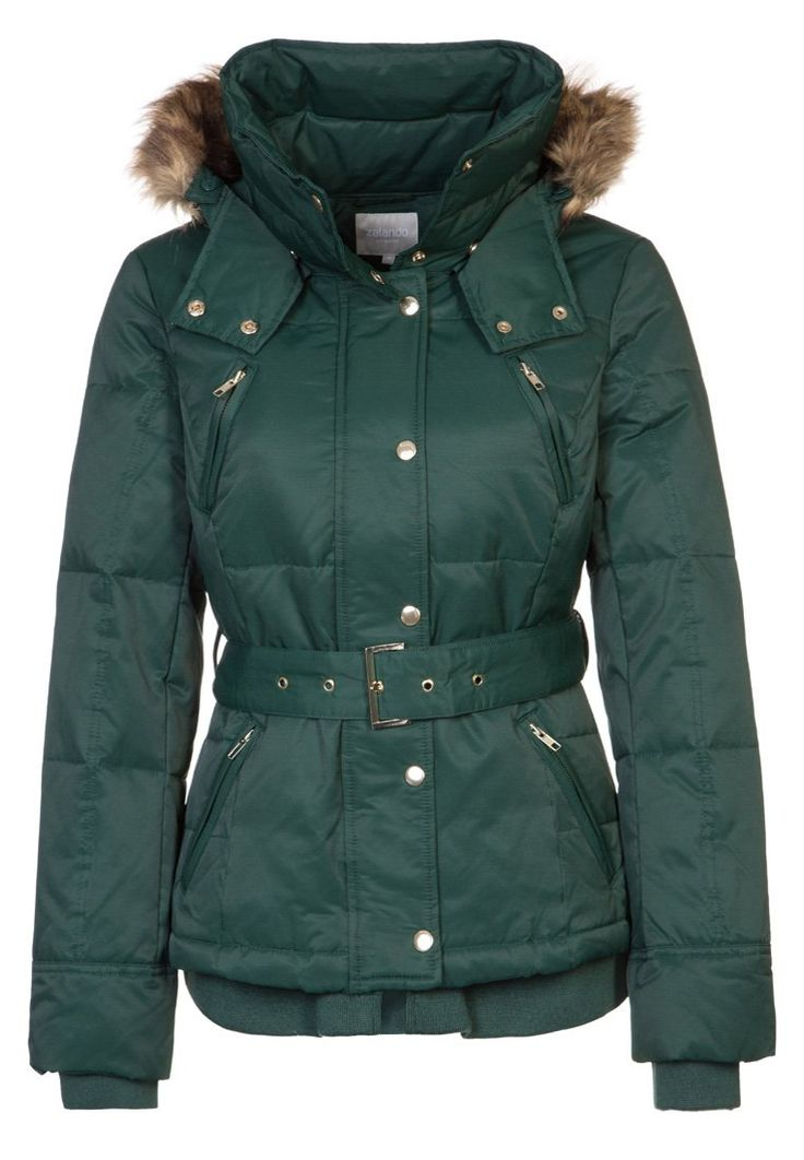 Zalando Collection Down jacket green